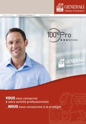 Couverture du Contrat 100% Pro Generali